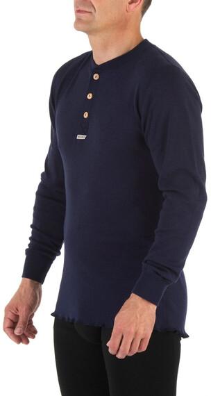 Aclima Unisex Granddad Shirt Peacoat